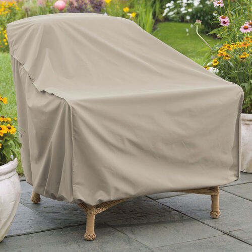 Weather Wrap® Wicker Chair Cover